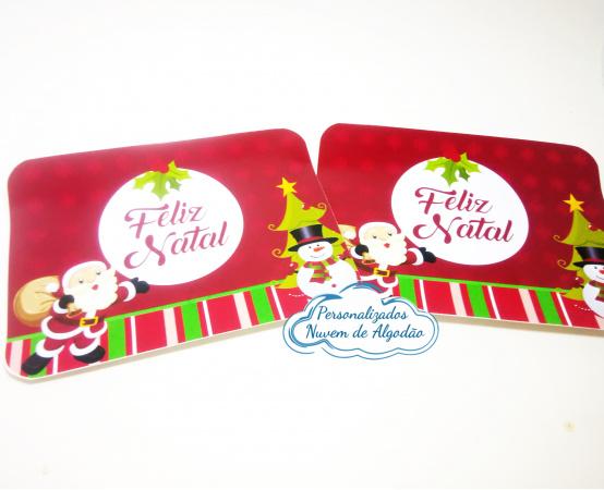 Adesivo de marmitinha Natal-Adesivo de marmitinha Natal  Fazemos todos os temas  Na hora do seu pedido informe os dados para