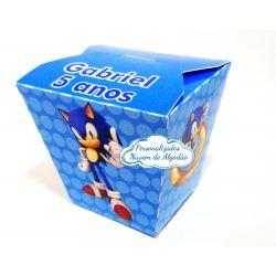 Caixa sushi Sonic