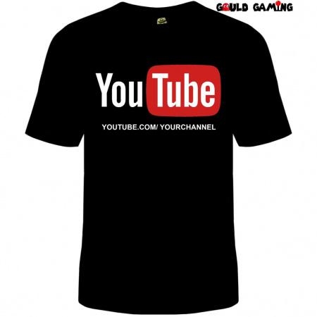 Camiseta  Canal Youtube 100% algodão-Sejá benvindo em nossa loja será um prazer antende-lo(a) Nossas estampas são impressas com o mai