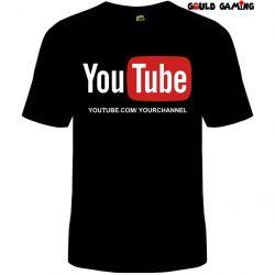Camiseta  Canal Youtube 100% algodão