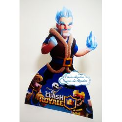 Display de mesa Clash Royale 27cm - Mago de Gelo
