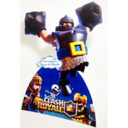 Display de mesa Clash Royale 27cm - Megacavaleiro