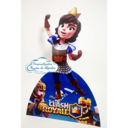 Display de mesa Clash Royale 27cm - Princesa
