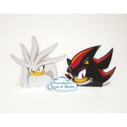 Forminha Sonic, Shadow e Silver