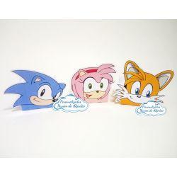 Forminha Sonic, Tails e Amy