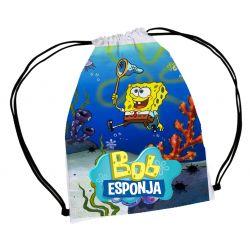 30 mochila saco  Bob Esponja Personalizada