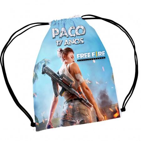 30  Mochila Saco Free Fire Game Personalizada-30  Mochila Saco Free Fire Game Personalizada A magia e encanto de uma festa começa nos pequenos d
