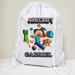 30 mochila saco  Game  Personalizada