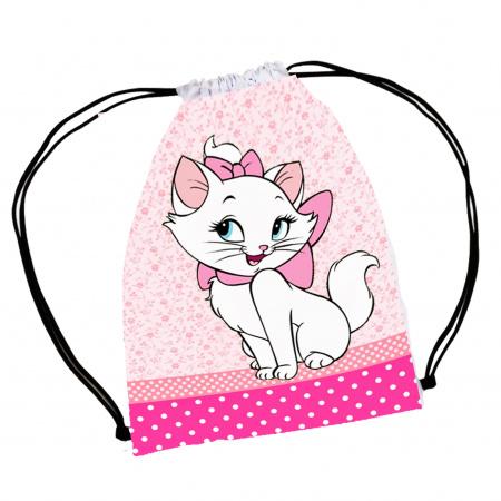 30 mochila saco Gatinha Marie Personalizada-A magia e encanto de uma festa começa nos pequenos detalhes o grande objetivo de se fazer uma lemb