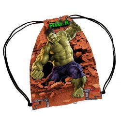 30 Mochila Saco Hulk  Personalizada Festa