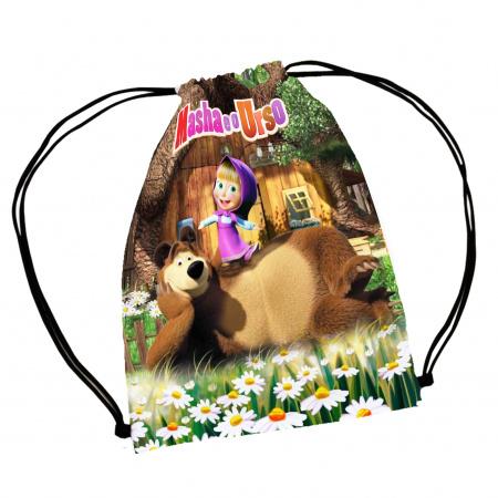 30 Mochila Saco Macha e o Urso Personalizada-30 Mochila Saco Macha e o Urso Personalizada Mochila saco personalizada no tamanho: 20x30cm feita c