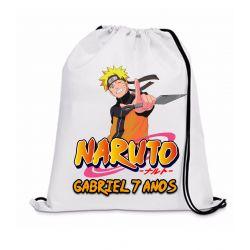 30 Mochila Saco Naruto Personalizada