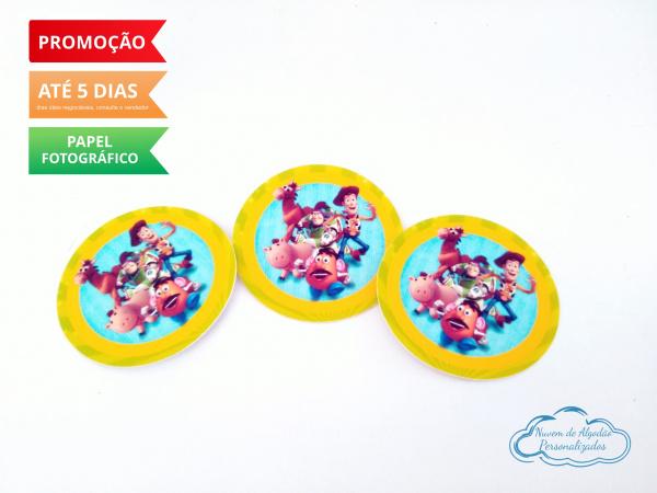 Adesivo 5x5 Toy Story-Adesivo 5x5 Toy Story  Fazemos em qualquer tema. Envie nome e idade para personalização. Data