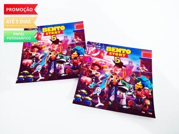 Adesivo de sacolinha 10x10 Toy Story-Adesivo de sacolinha 10x10 Toy Story  Fazemos em qualquer tema. Envie nome e idade para personali