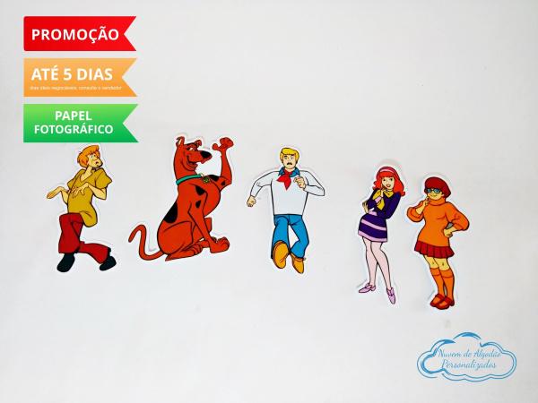 Aplique de tubete Scooby Doo-Aplique de tubete Scooby Doo  Fazemos em qualquer tema. Envie nome e idade para personalização
