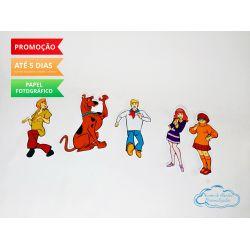 Aplique de tubete Scooby Doo
