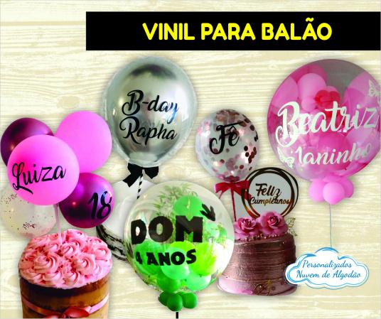 Adesivo Vinil 40x24cm para balão grande-Fazemos todos os temas    Valor referente ao tamanho 40x24cm Para tamanho menor consulte-nos no c