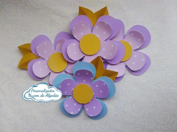 Aplique 3d de caixinha 5x5 Jardim encantado - Flores-Aplique 3d de caixinha 5x5 Jardim encantado - Flores  Fazemos em qualquer tema. Envie nome e idad