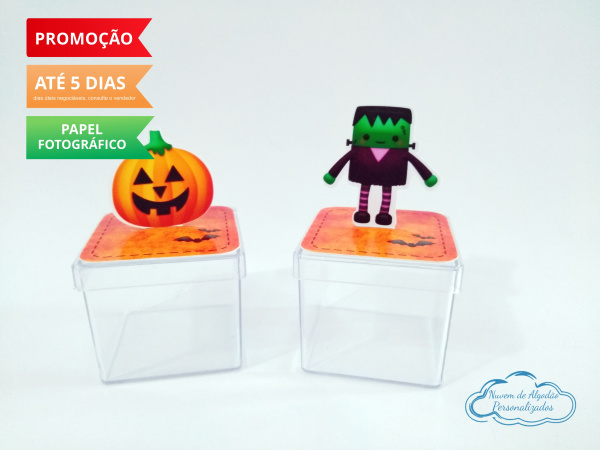 Aplique 3d de caixinha Halloween-Aplique 3d de caixinha Halloween  Fazemos todos os temas Fazemos em qualquer tema. Envie nome e