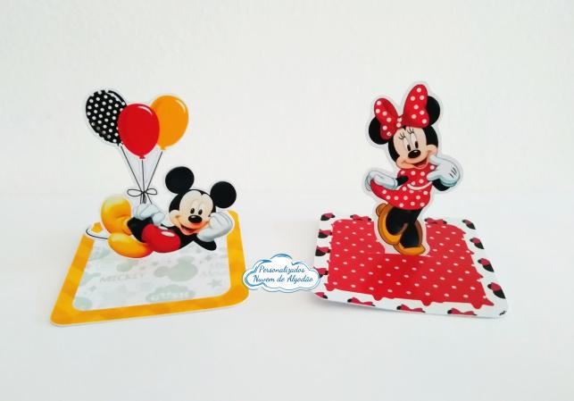 Aplique 3d de caixinha Mickey e Minnie-Aplique 3d de caixinha Mickey e Minnie  Fazemos todos os temas Fazemos em qualquer tema. Envie n