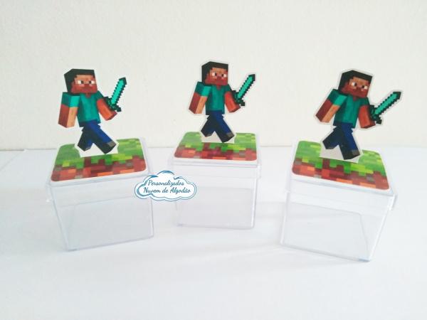 Aplique 3d de caixinha Minecraft-Aplique 3d de caixinha Minecraft  Fazemos todos os temas Fazemos em qualquer tema. Envie nome e