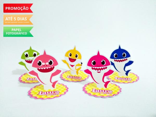 Aplique 3d de latinha 5x5 baby shark-Aplique 3d de latinha 5x5 baby shark  Fazemos todos os temas Fazemos em qualquer tema. Envie nom