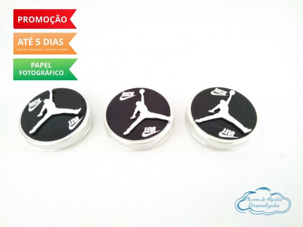 Aplique 3d de latinha 5x5 Basquete - Nike Jordan-Aplique 3d de latinha 5x5 Basquete - Nike Jordan  Fazemos todos os temas Fazemos em qualquer tema