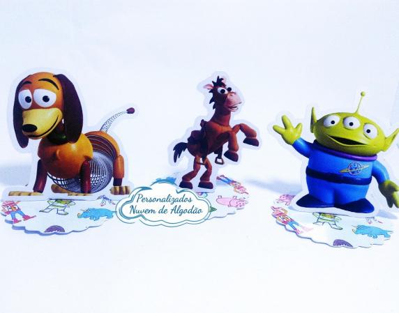 Aplique 3d de latinha 5x5 Toy Story - Slinky-Aplique 3d de latinha 5x5 Toy Story - Slinky  Fazemos em qualquer tema. Envie nome e idade para p