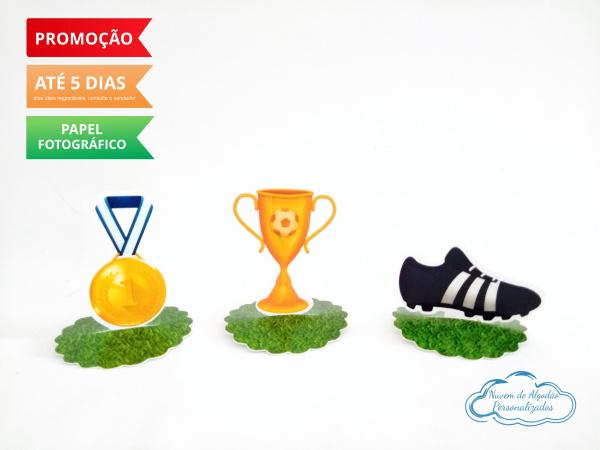 Aplique 3d de latinha Futebol-Aplique 3d de latinha Futebol  Fazemos todos os temas Fazemos em qualquer tema. Envie nome e ida