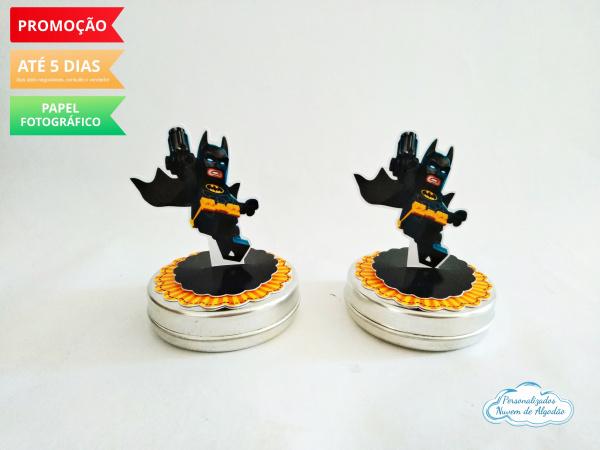 Aplique 3d de latinha lego Batman-Aplique 3d de latinha lego Batman  Fazemos todos os temas Fazemos em qualquer tema. Envie nome e