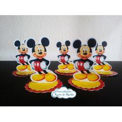 Aplique 3d de latinha Mickey 3 camadas