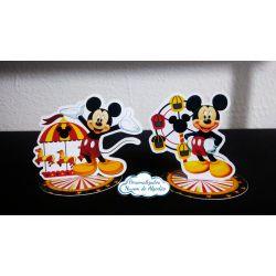 Aplique 3d de latinha Parque do Mickey
