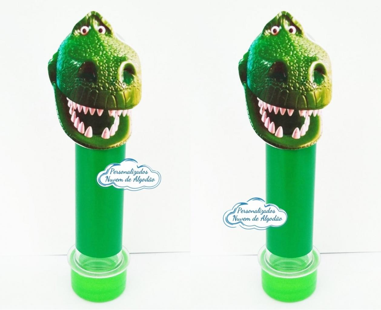Nuvem de algodão personalizados - Aplique de tubete + adesivo Toy Story - Rex