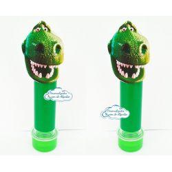 Aplique de tubete + adesivo Toy Story - Rex