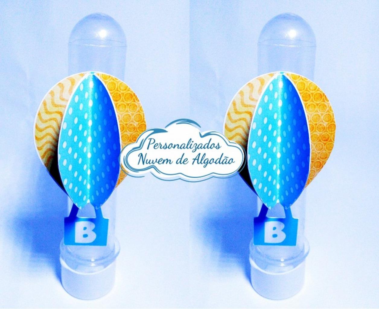 Nuvem de algodão personalizados - Aplique de tubete Balão 3d