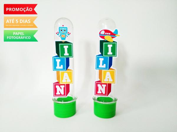 Aplique de tubete Brinquedos - Blocos de letra-Aplique de tubete Brinquedos - Blocos de letra  Fazemos em qualquer tema. Envie nome e idade para