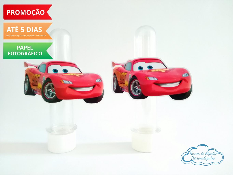 Nuvem de algodão personalizados - Aplique de tubete Carros