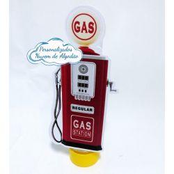 Aplique de tubete Carros Bomba de Gasolina