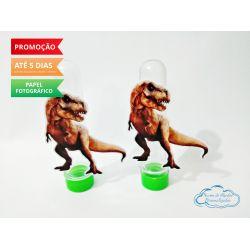 Aplique de tubete Dinossauros T-Rex
