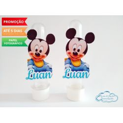 Aplique de tubete Disney baby - Mickey