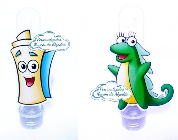 Aplique de tubete Dora a aventureira - Mapa e Isa-Aplique de tubete Dora Aventureira - Mapa e Isa  Fazemos em qualquer tema. Envie nome e idade par