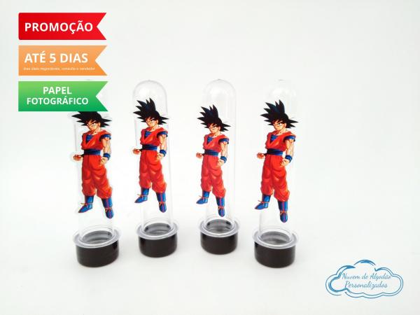 Aplique de tubete Dragon Ball - Goku-Aplique de tubete Dragon Ball - Goku  Fazemos em qualquer tema. Envie nome e idade para personali