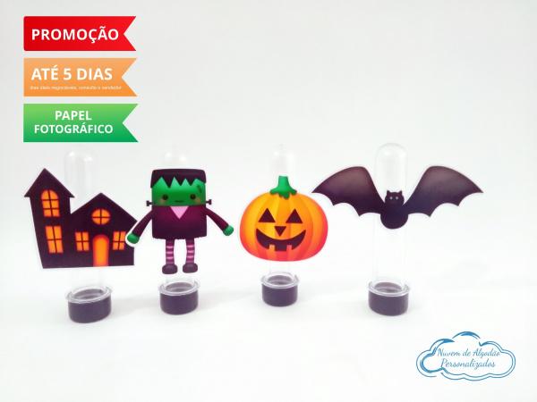 Aplique de tubete Halloween-Aplique de tubete Halloween   Fazemos em qualquer tema. Envie nome e idade para personalização