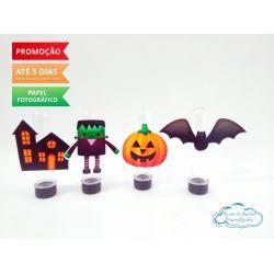 Aplique de tubete Halloween