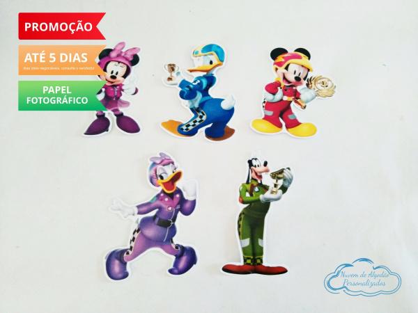 Aplique de tubete Mickey aventura sobre rodas-Aplique de tubete Mickey aventura sobre rodas  Fazemos em qualquer tema. Envie nome e idade para