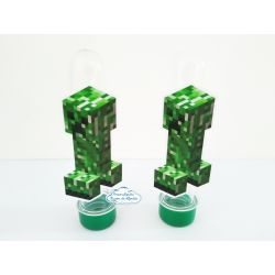 Aplique de tubete Minecraft - Creeper