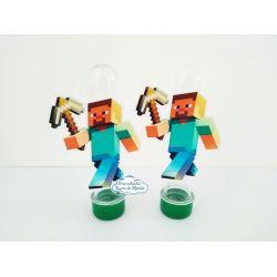 Aplique de tubete Minecraft - Steve