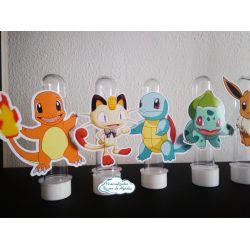 Aplique de tubete Pokemon
