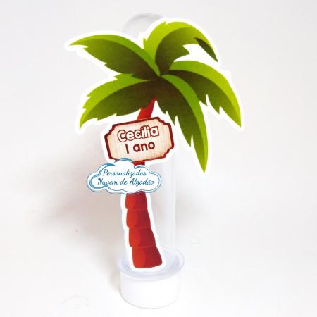 Aplique de tubete Pool party - coqueiro-Aplique de tubete Pool party - coqueiro  Fazemos em qualquer tema. Envie nome e idade para person