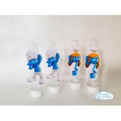 Aplique de tubete Smurfs